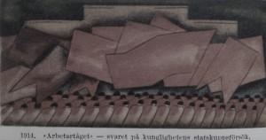 Arbetartåget 1914