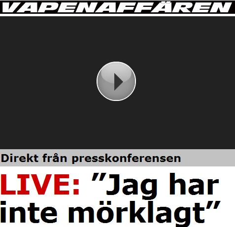 Dagens rubrik i Aftonbladet!