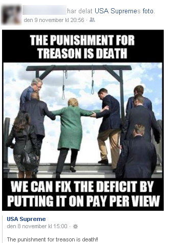 Hillary negativ kampanj