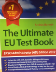 EU the ultimate EU test book fr EPSO administrator