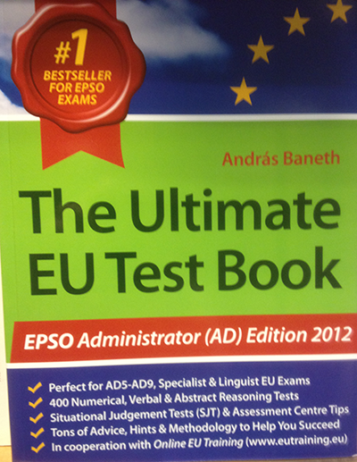EU the ultimate EU test book för EPSO administrator