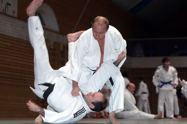 Vad går att utläsa om Putin utifrån hans judostil